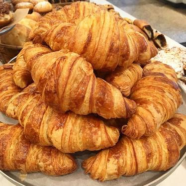 Croissants at Flour Bakery & Cafe