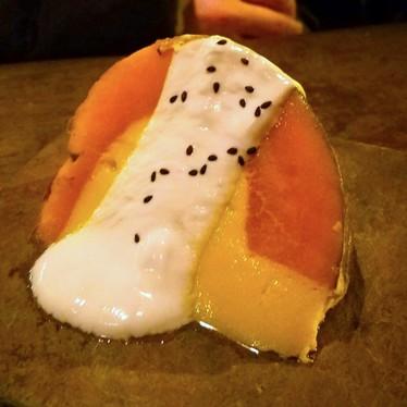Pumpkin flan at Nudi Noodle Place
