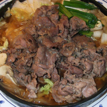 Sukiyaki at Maneki