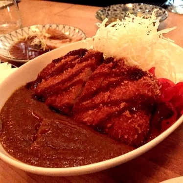 Japanese curry + Pork tonkatsu. at Imanishi Japanese Kitchen