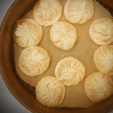 Soup dumplings  at Lai Lai Dumpling House