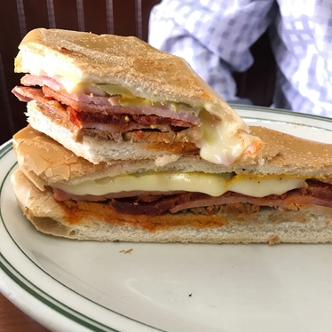 La carreta sandwich  at La Carreta Cuban Cuisine