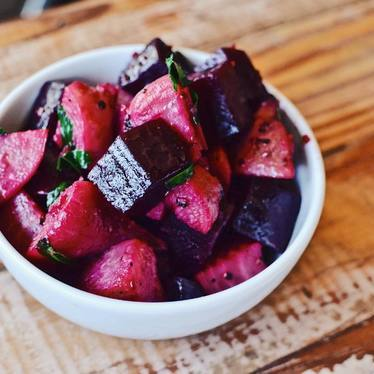 Roasted local beets at Coltivare Pizza & Garden