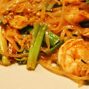 Pad thai at Tasty Thai & Sushi