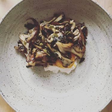 Sautéed mushrooms at Drifters Wife